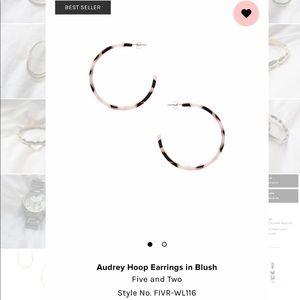 Audrey Hoop Earrings